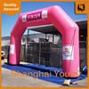 Weather resistance custom shape advertising arch structured inflatable arch