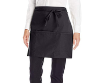 blank canvas waist apron with 2 pockets