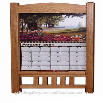 Hot Sell Wooden Calendar Holder
