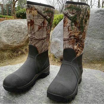 525c99f0014 Melhor popular muck neoprene homem preto caça wellington borracha botas de  chuva