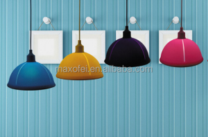 colorful led pendant lamp decorative hanging suspension light