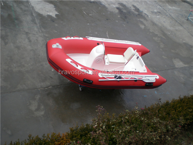 Entertainment Inflatable Rib 330 Fiberglass Boat Wave Boat For Sale In Rowing Boat