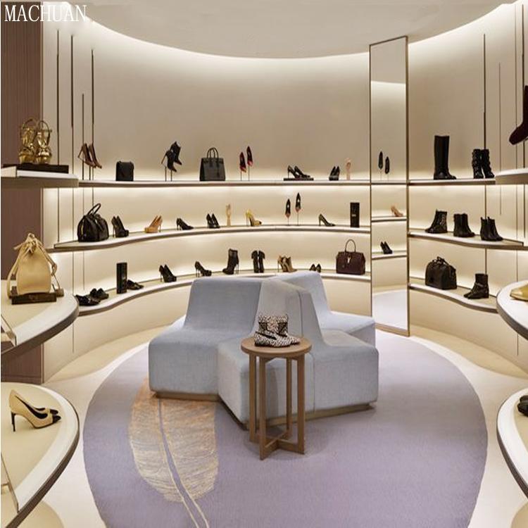 Oem Fashion Shoes Shop Fitting High End