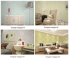 2016 high quality 3d European style home/New design 3D Wallpaper for bedroom/