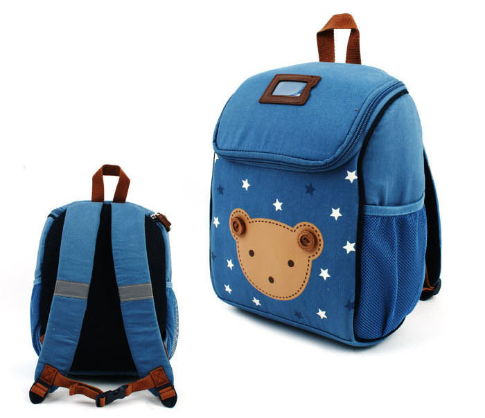 Buy Cotton Material Cartoon Bear Children Square Shoulders Backpack Lovely  Cartoon Animal School Bag For 2 To 5 Years Old Baby in Cheap Price on  m.alibaba. ... be8eeb42d1639