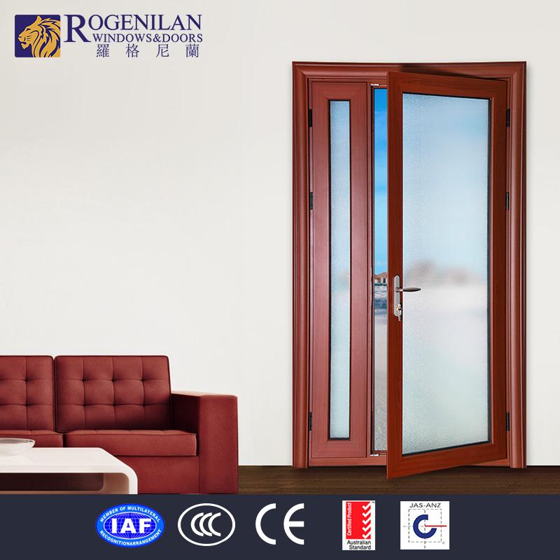 Rogenilan used commercial glass aluminum double swing - Commercial aluminum exterior doors ...