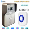 eBELLl ATZ-DBV01P-433MHz Full Duplex Audio 720P Video Doorbell Camera Intercom Wireless with Inside Dingdong Chime