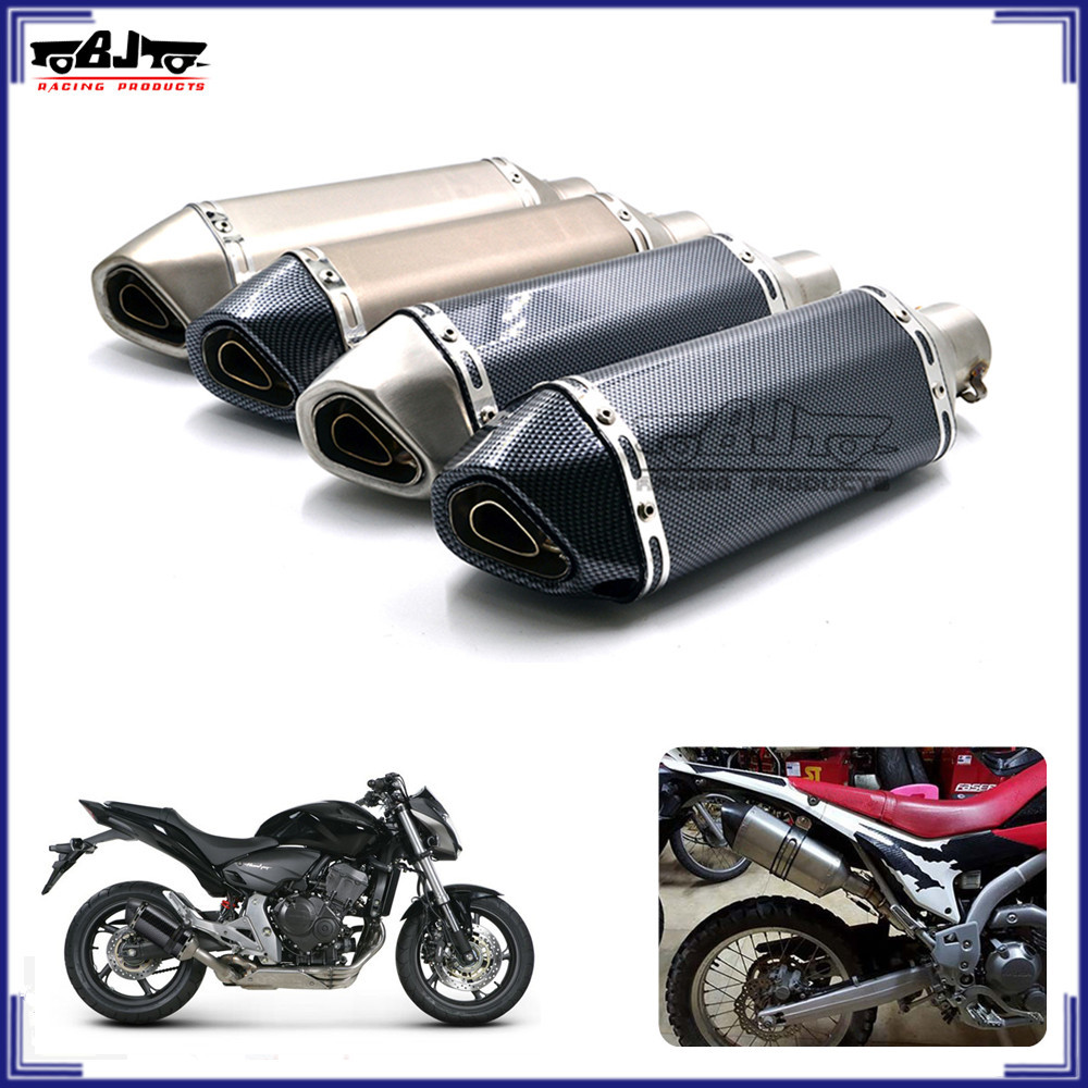 universal motorrad auspuffanlage atv street dirk bike. Black Bedroom Furniture Sets. Home Design Ideas