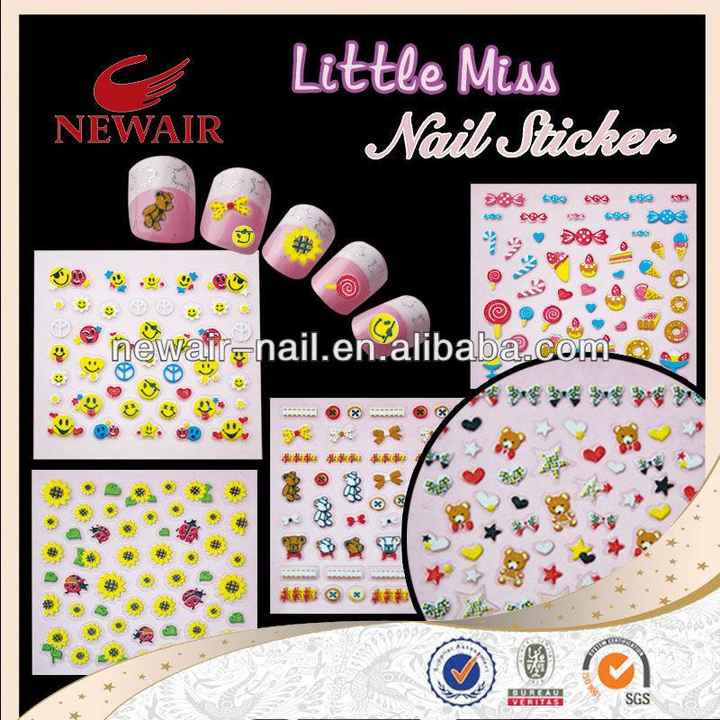 Safety Nail Art Sticker For Kids - Buy Nail Art Stickers,Korea Nail ...