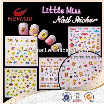 Safety Nail Art Sticker For Kids Buy Nail Art Stickerskorea Nail