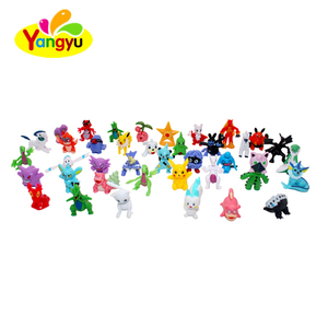 Plastic Capsule with Children Toy Pokemon