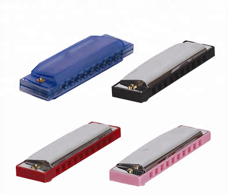 Educatief Speelgoed Promotionele 10 Holes Harmonica