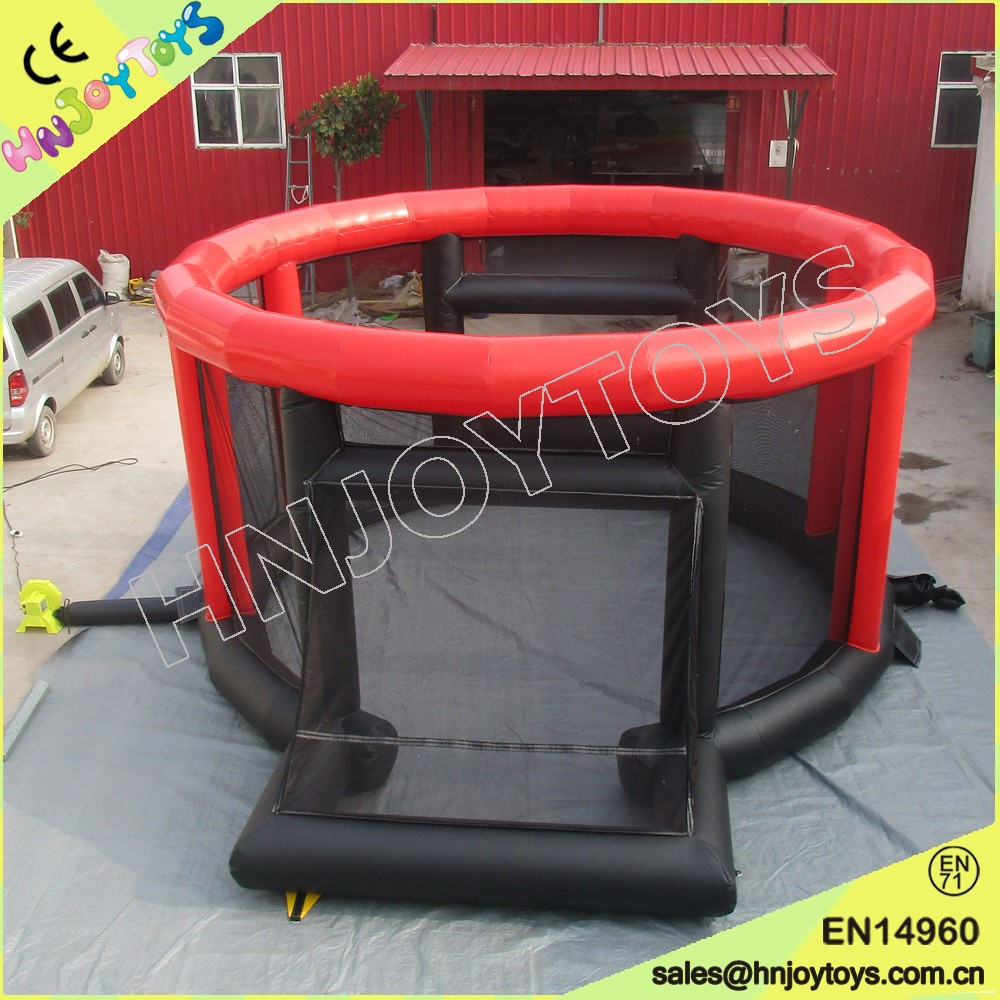 top sale most popular HNJOYTOYS PVC Nylon inflatable panna soccer/baseball cage  for sale
