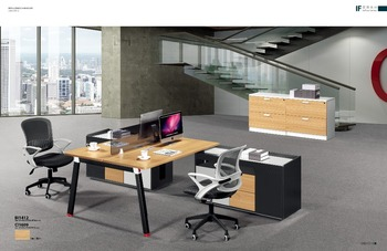 Home Office Desks Open Office Partition Cubicle Workstation With 6 Seaters  GH301 6