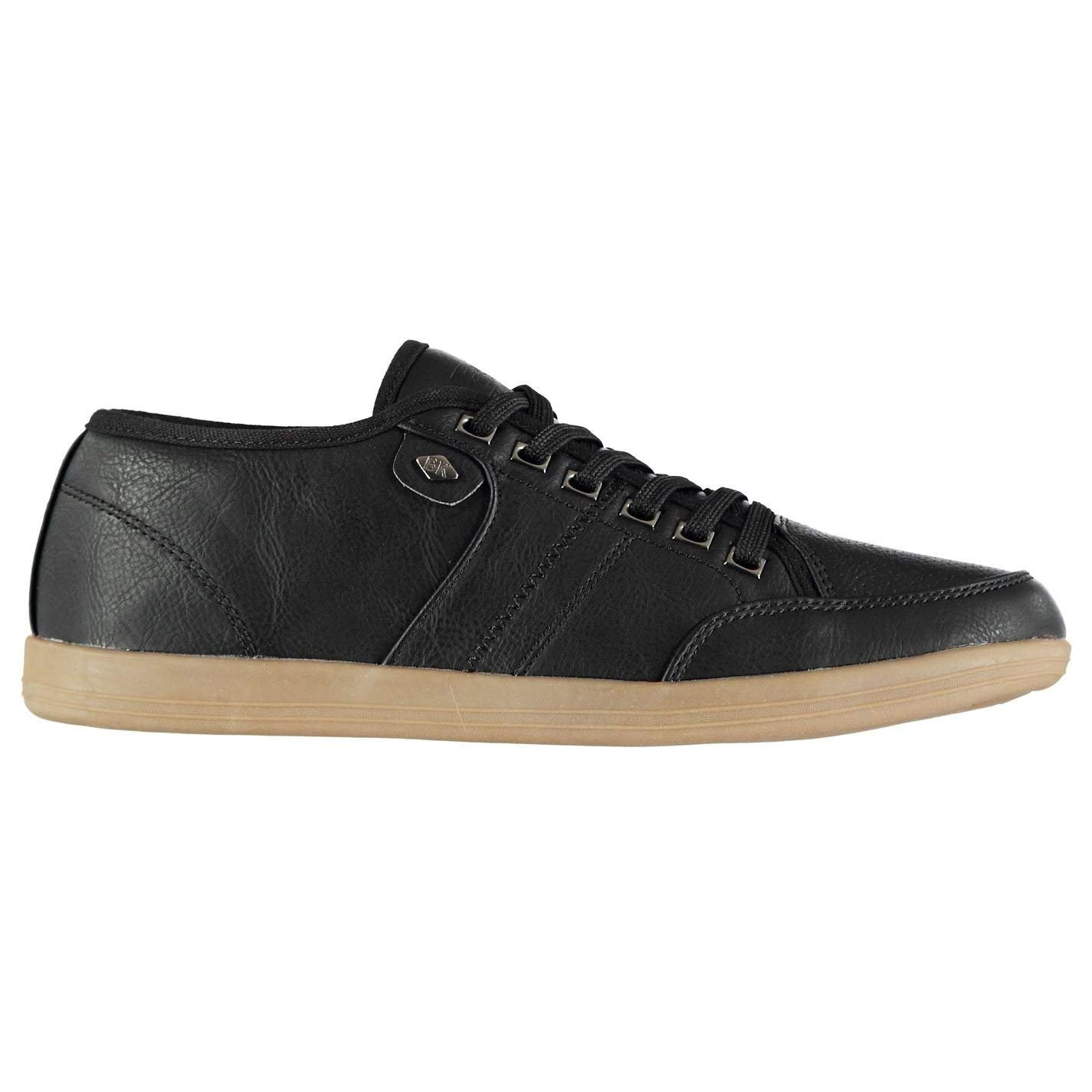 Get Quotations · British Knights Mens Surto Low Trainers Lace up Textured c202df51a459b