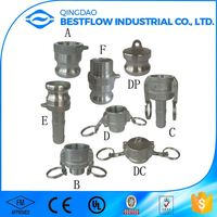 Strict quality control good reputation cam groove quick water coupling hose couplers