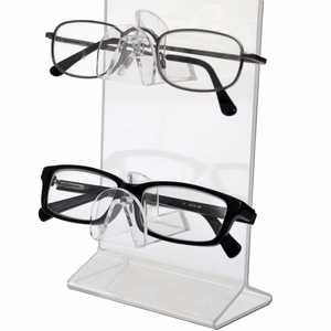 2019 New Popular Sunglass Display Portable Acrylic Glasses Display Metal Wire Key Chain Display Rack Hook