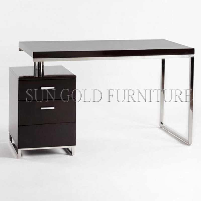 Moderne simple de bureau domicile petit ordinateur for Petit bureau ordinateur
