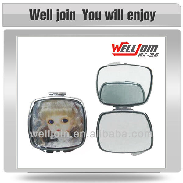 advertising pocket polished Metal Mirror