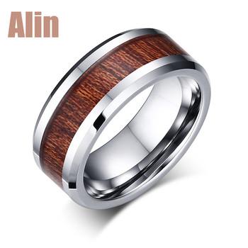 dc87ecc84d46b Fashion Superman Koa Wood Inlay Red Tungsten Wedding Ring - Buy Koa Wood  Inlay Tungsten Carbide Ring,Superman Tungsten Ring,Fashion Wedding Rings ...