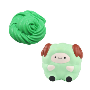 DIY novelty slime with toy animal cute funny squishy toys online