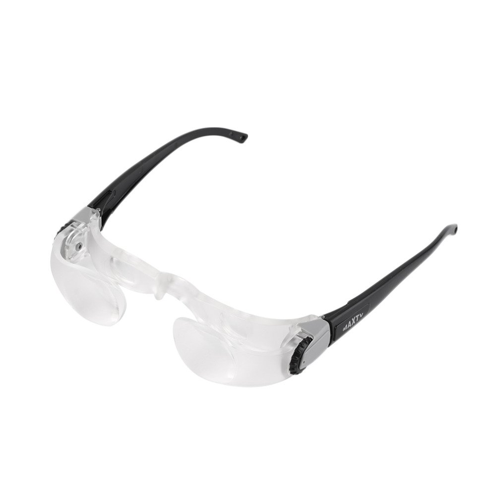 418701f031 Get Quotations · GuDoQi Myopia glasses head wear magnifying 300 degree  adjustable reading glasses portable for low vision watching
