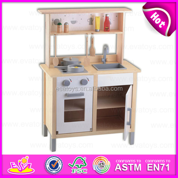 2015 Pretend Diy Kids Wooden Toy Kitchen,Role Play Wooden Toy Kitchen Toy  Set,Child Wooden Kitchen Set Toy For Christmas W10c154 - Buy Kitchen ...