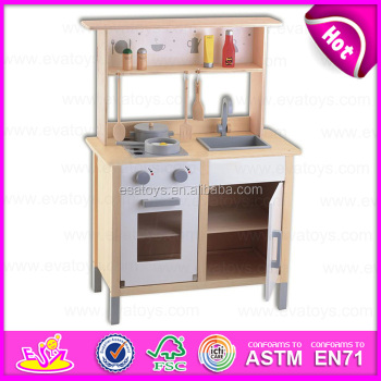 2015 pretend diy kids wooden toy kitchen role play wooden - Cocina juguete aliexpress ...