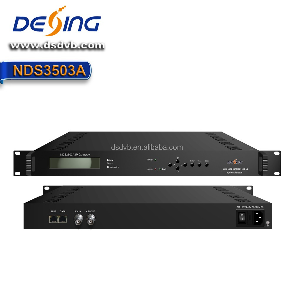 Dexin NDS3503A Bidirectional ASI in ip out Gateway