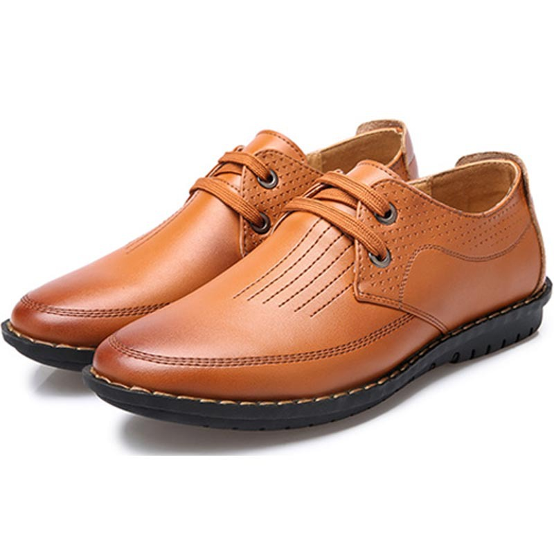 Brand new Fashion British Style High Quality Genuine Leather Men Oxfords LaceUp Business Men Shoes Wedding Shoes Men Dress Shoes