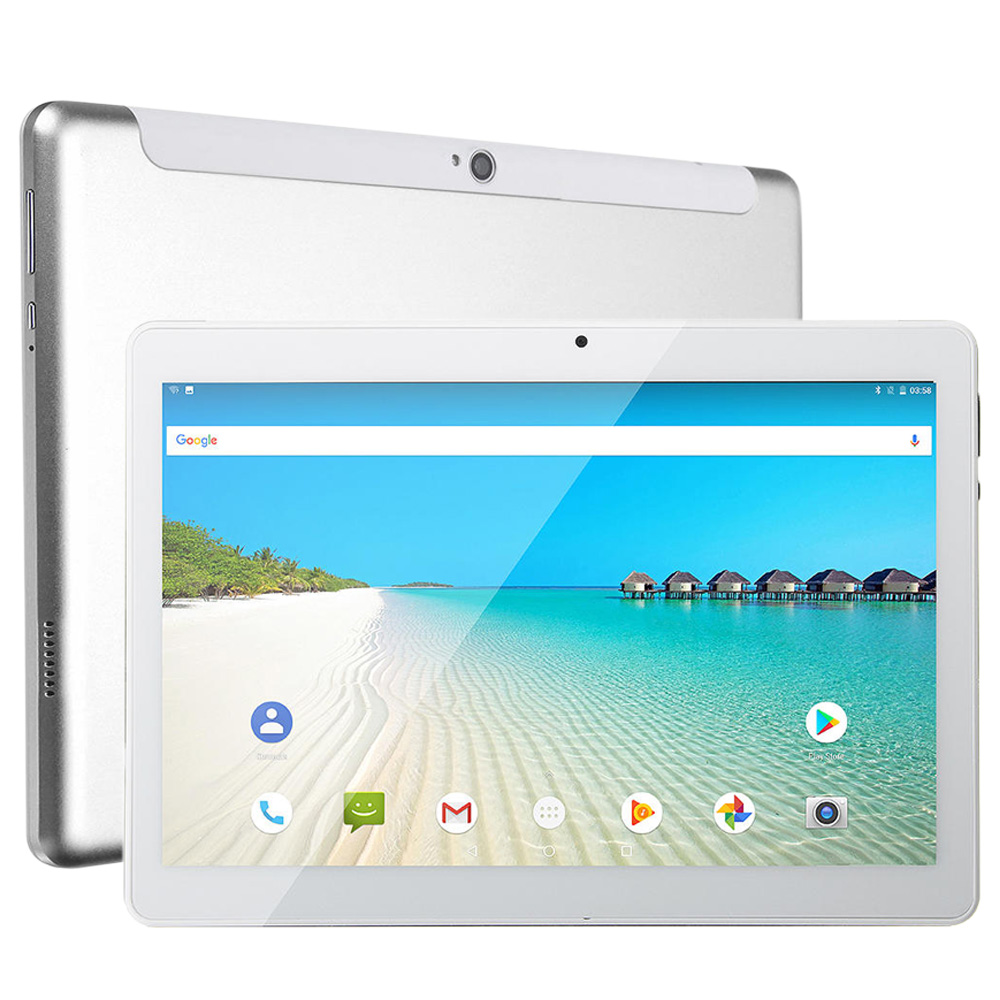 10.1 pollici Android 8.0 4G LTE Tablet PC MT6797 X20 Deca Core 3 GB di RAM 32 GB di ROM 1920*1200 GPS Dual SIM Card Phone Call Tablets