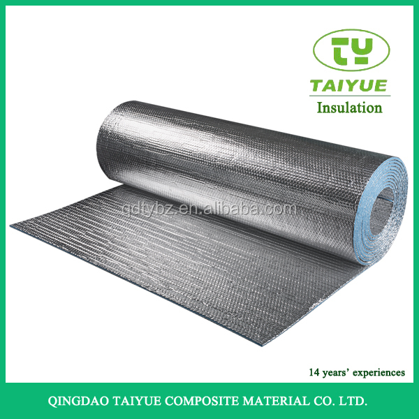 Reflective XPE Foam Foil Roofing Insulation/Fireproof Aluminium Foil Foam Insulation/Foil Backed Foam Insulation Sheet