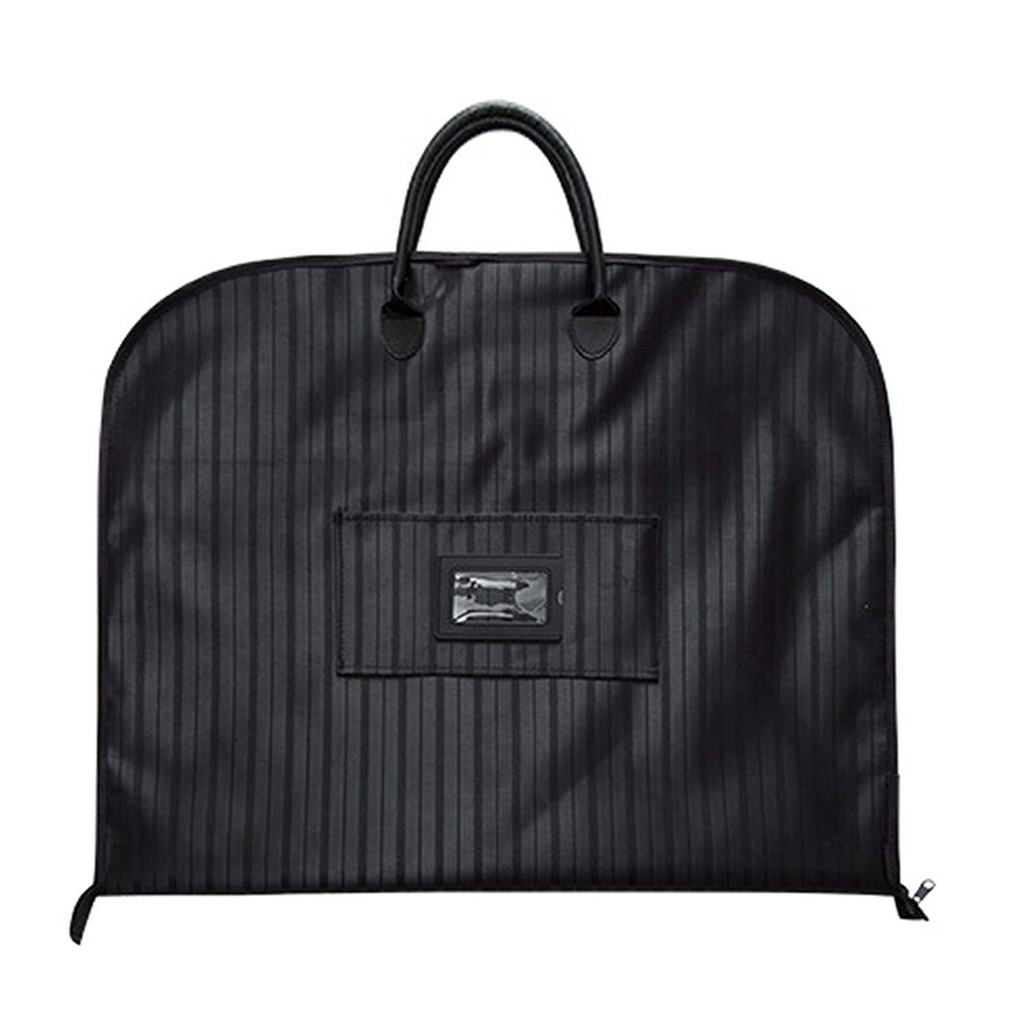 Black MYBESTFURN Light Weight Travel Garment Bag Waterproof Carry On Suit Bag 40 Inches