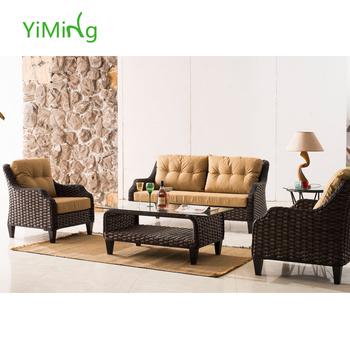 2015 New Design USA Top Class Wicker Outdoor Furniture Rattan Sofa/Lounge