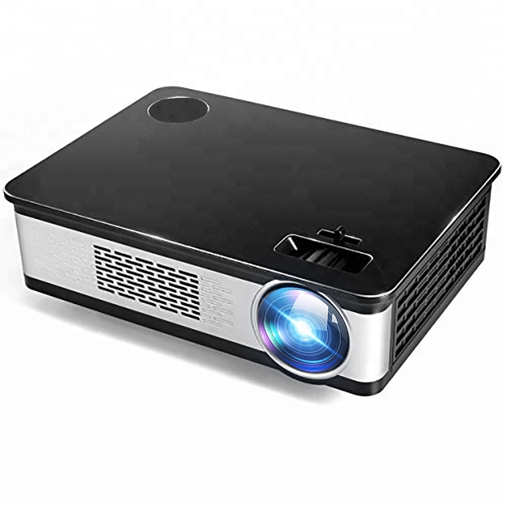[Wk Horloge] Walmart Hot Selling Android wifi Inheemse 1080p full hd digitale LED draagbare video home theater LCD projector