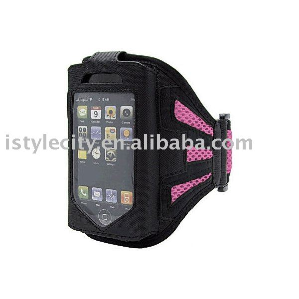 Mesh Sport Armband for iPhone 4, for iPhone 3G/for 3GS & for iPod Touch(Pink)
