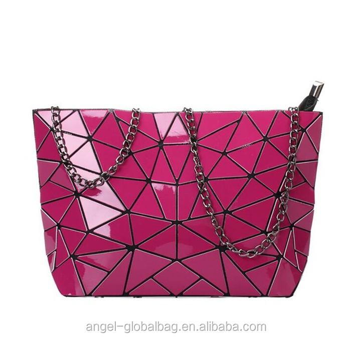 7990a2fc493 Japanese Korean Fashion Trends Geometric Ladies Bag Ladies Handbag ...
