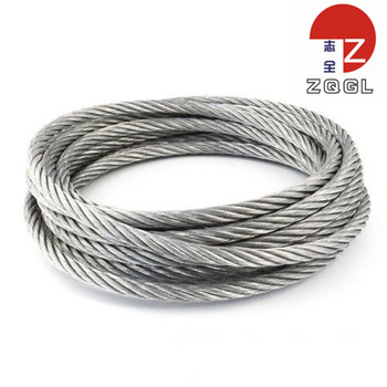 High Quality 1x7 Used Galvanized Steel Wire Rope Price - Buy Steel ...