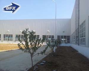 Q235 Q345B Grade Oem Prefab Long Life Large Span Steel Structure Warehouse Office Combined