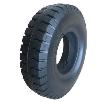 PU Material 8 Inch 2.50-4 Solid Wheels For Cargo