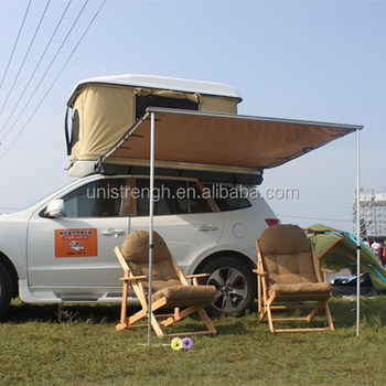 High Quality PU Coated 4x4 Car Foxwing Awning