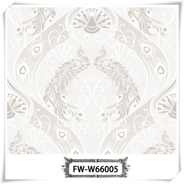 Famous chinese anti-static interior specialized wall paper for living room background wall