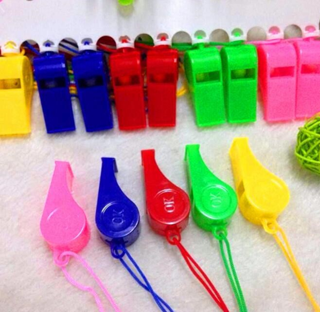 Plastic Whistle Referee Whistle Children's Toys Cheer Cheer