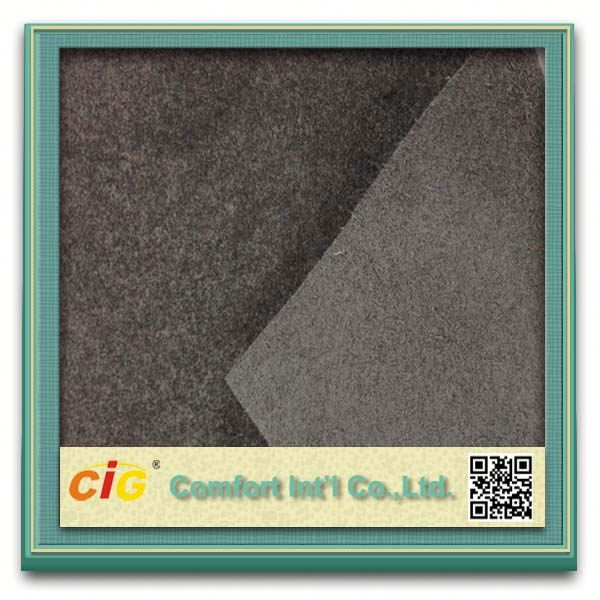 100% polyester substrate of microfiber leather