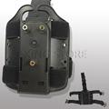 Safariland style Thigh Holster Pouch Black Plateform Gl 17 USP Sig Beretta Colt Universal Drop Leg