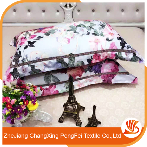 Fancy polyester customized bedsheet for wholesale