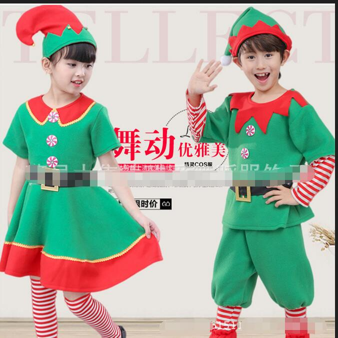 onen men women's Girls Elf Costume Santa's Little Helper Christmas Xmas Fancy Dress Outfit Party