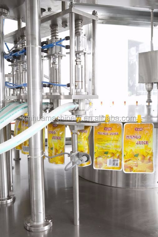 Brand new spout pouch filling machines for sunflower oil top manufacturer