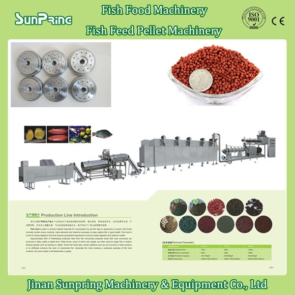 2015 best price hot sale floating fish feed pellet making machine in China