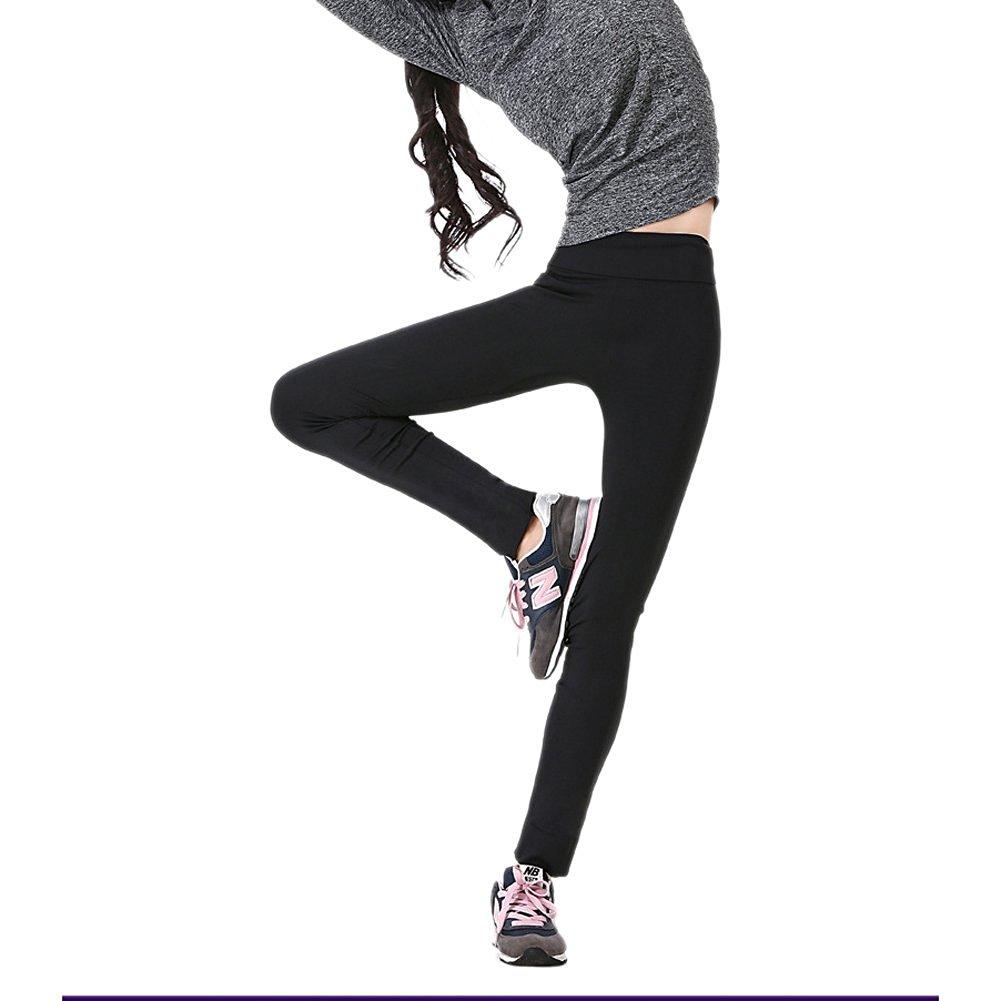 73fbf2f9a8e47 Get Quotations · Lerela Women High Waist Slimming Yoga Legging Capris  Running Legging Sport Pants